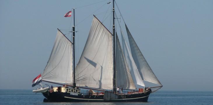 Segelfreizeit auf dem Ijsselmeer 2018