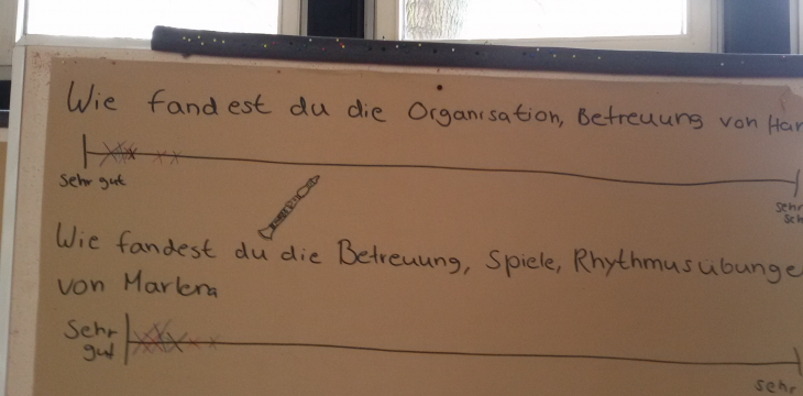 """""""Rhythmus im Blut"""" – Projektbericht 05.04.2016"""