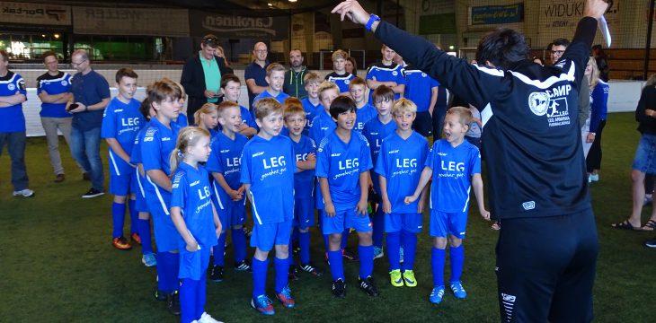Fussballcamp ein voller Erfolg – Projektbericht 05.10.2016