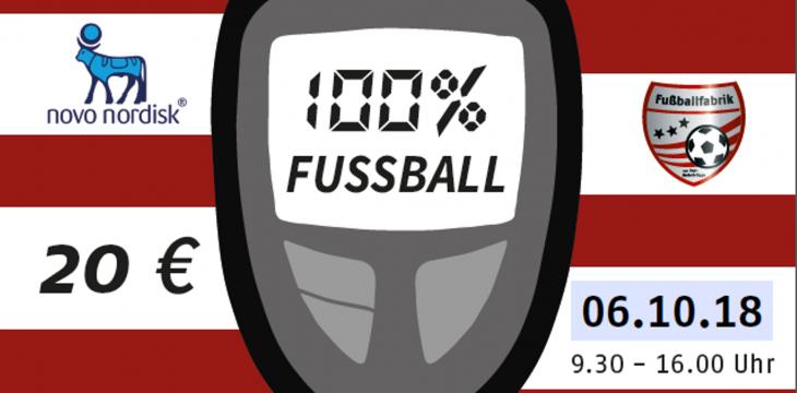 Trainingscamps für Fußball-begeisterte Kinder mit Typ 1 Diabetes
